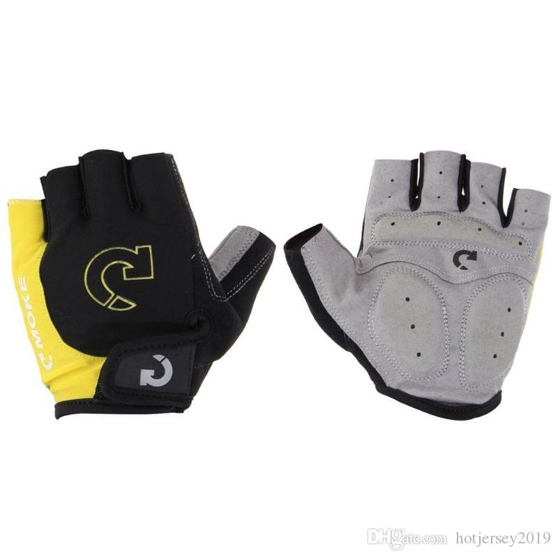 Half Finger Cycling Gloves Summer Sports Glove Anti Slip Gel Bike Glove for Men Women MTB Bicycle Gloves Guantes Ciclismo #303367