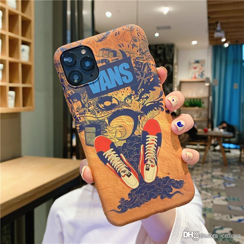 Cubierta de lujo de la moda de alta calidad de dibujos animados lindo de la caja del teléfono para el iPhone 11Pro X XR XS MAX 7 8 Plus TPU de silicona para el iPhone 11