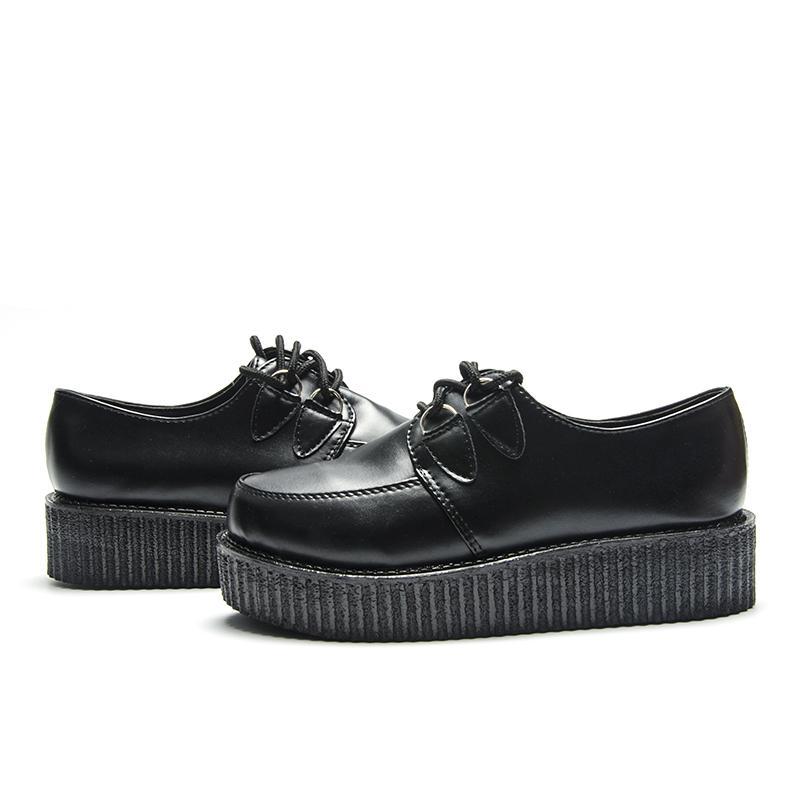 Fujin Marka Sonbahar Creepers Ayakkabı Artı