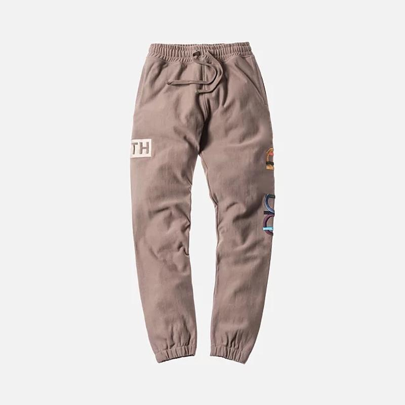 18FW KITH X CHAP Pantolon Uzun Pantolon Jogger Pamuk Pantolon Pantolon Moda Erkekler Kadınlar Çift Moda Spor Sweatpants HFLSKZ073