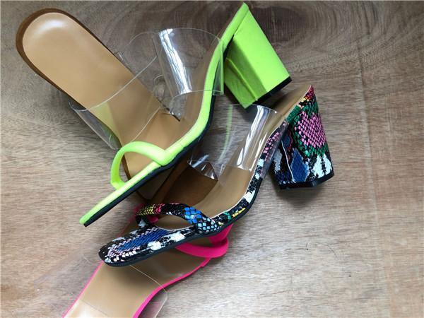 Transparente tacones altos Zapatos de las sandalias 8.5cm envío de las mujeres de los altos talones euro americano-estilo de la moda