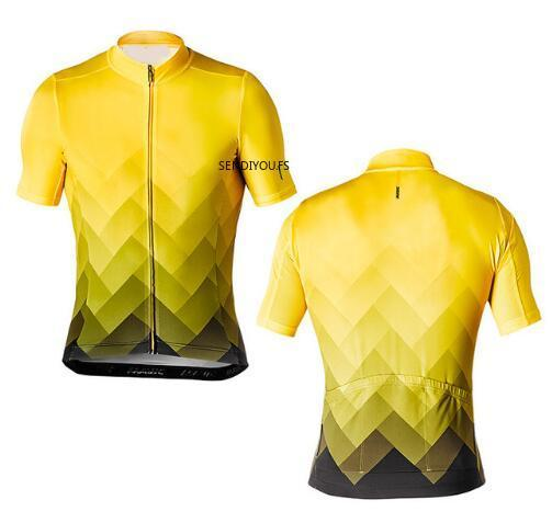 SENDIYOU.FS18 Novo verão pro ciclismo jersey de manga curta Equitação T-shirt mtb bicicleta bycicle roupas maillot ciclismo mallot