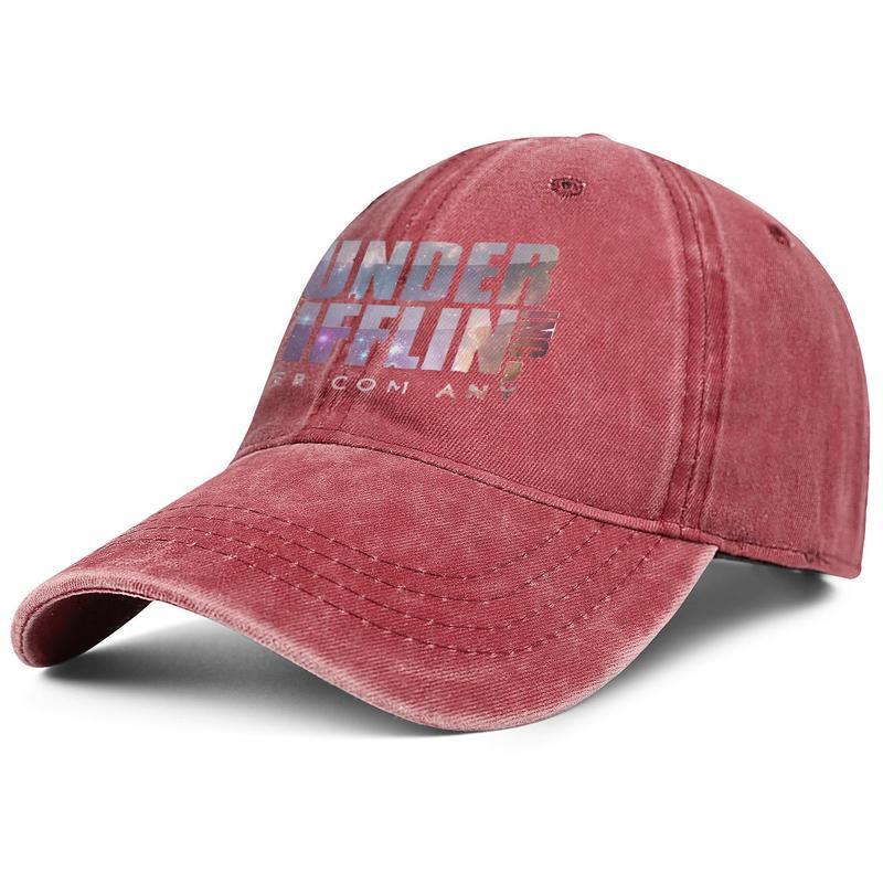 vendimia unisex gorra de dril de algodón lavado ajustable Dunder Mifflin sombrero del snapback papá diseñador del logotipo de Jóvenes al aire libre
