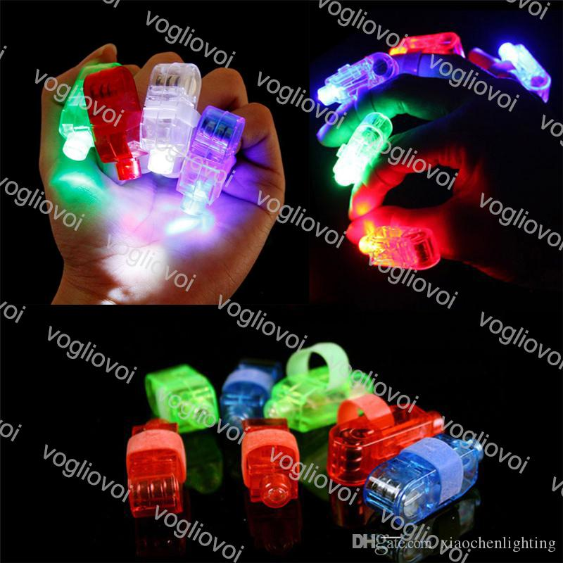 الجدة الإضاءة البنصر أضواء أدى مصباح توهج الليزر الحزم حزب فلاش كيد لعب 4 ألوان اللمعان ضوء عيد الميلاد هدايا الزفاف dhl