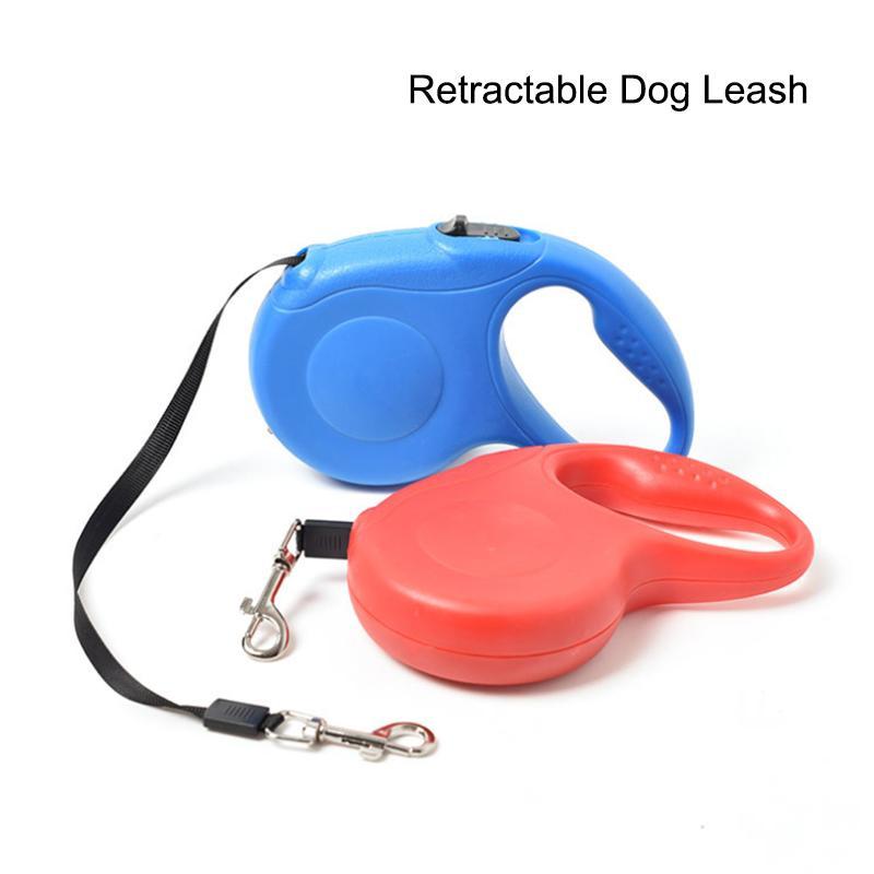 Comfort einziehbare Bandhundeleine Hund Zugseil für Groß Mittel Klein Hunde Pause Lock System Kette / Zugseil