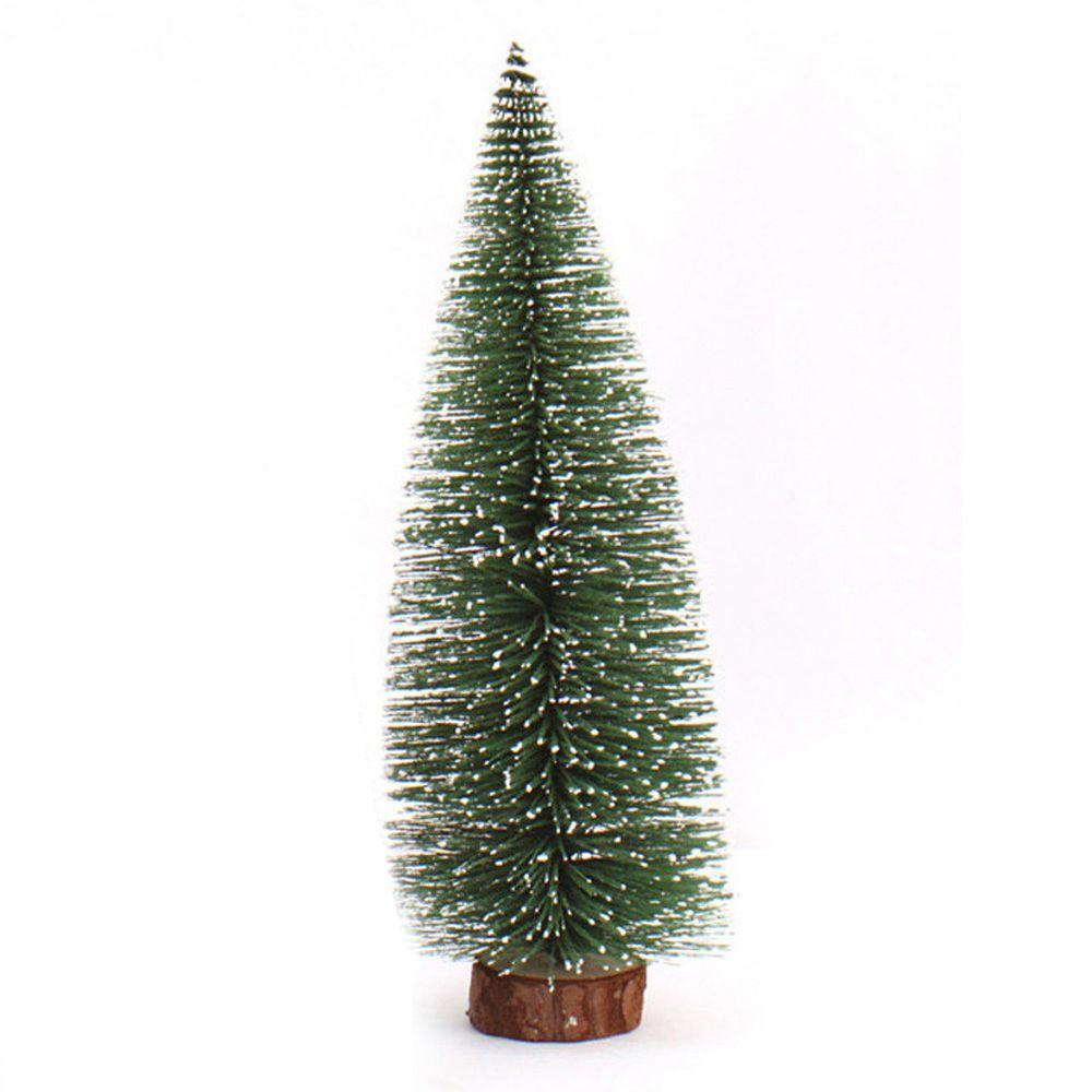 Mini Noel Ağacı Küçük Bir Çam Ağacı Masaüstü Noel Dekorasyon Home For Xmas In Yerleştirilmiş (15cm)