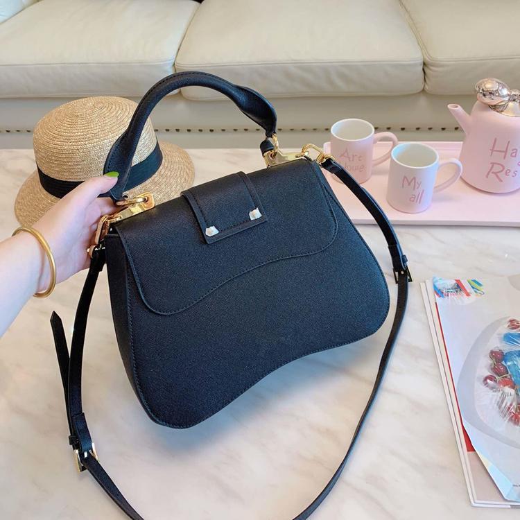 Nova Moda Handbag Designer Couro Senhoras sacos de alta qualidade Cruz Body Bags Bolsas de Ombro Outdoor Leisure Bag Carteira frete grátis