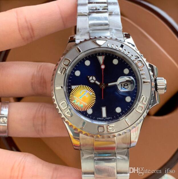 Männer Uhren Automatik-Uhrwerk Armbanduhren 40mm-Mann-Uhren 100 m wasserdichte beiläufige Uhren aus Edelstahl 116655