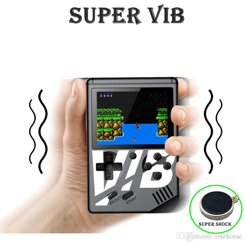 Handheld Game Console 139 Classic Games +30 Vibrating Games 3 Inch TFT Screen Portable Retro Video Game Console Support For Connecting TV