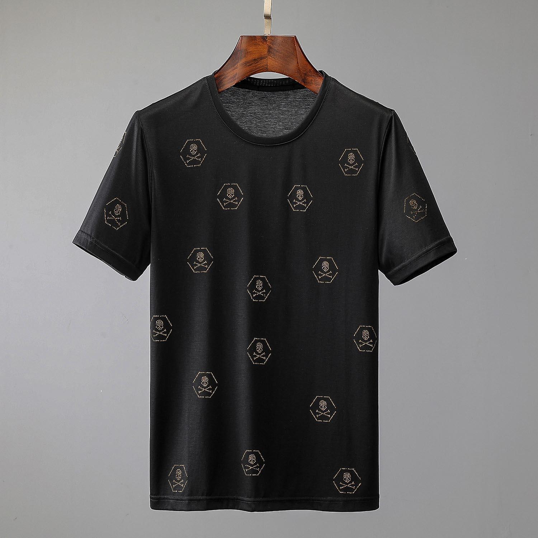 New BALR Designer camisetas Hip Hop Mens Designer camisetas marca de moda das mulheres dos homens de manga curta Camisetas Tamanho Grande OE2