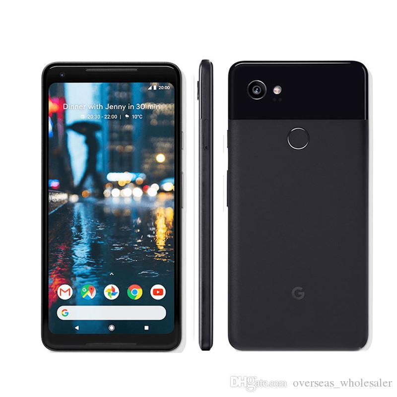 "Unlocked Original Google Pixel 2 XL 4G LTE Cell Phone 4GB RAM 64GB 128GB ROM Snapdragon 835 Octa Core Android 6.0"" Fingerprint Mobile Phone"
