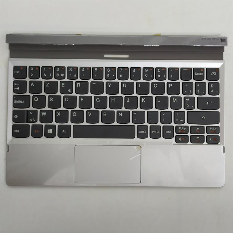 Free Shipping!!! 1PC Original New Laptop Keyboard Replacement Cover C For Lenovo MiiX 2 10 in Silver