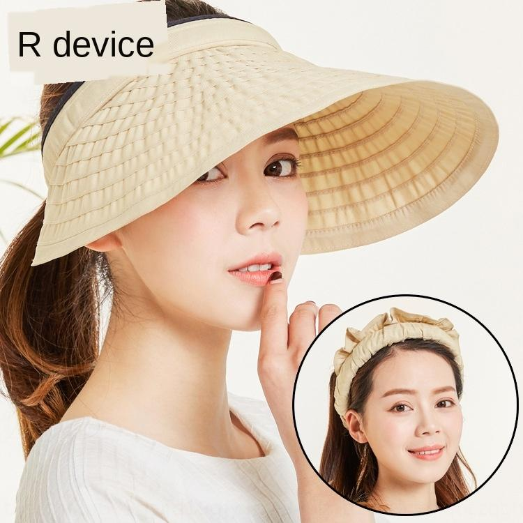 Женские солнцезащитный крем солнцезащитный крем большой доверху корейский стиль лето мода Спорт пустой женская шляпа дышащий большой защиты шляпы ВС