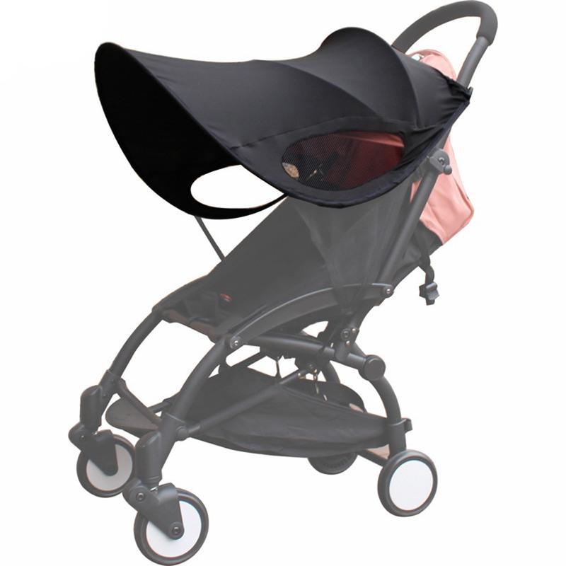 Çocuk arabaları Arabası Aksesuarları Oto Koltuk Buggy Pushch için Bebek Arabası Güneşlik Taşıma Güneş Gölge Canopy Kapak Yükseltildi sürümü