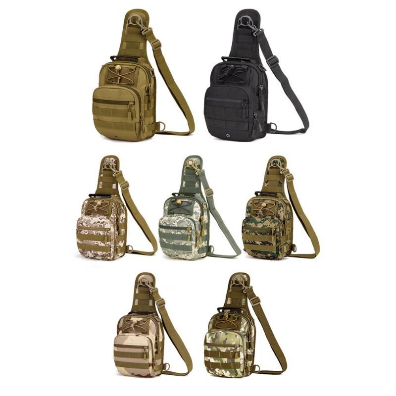 Protector Plus Multifunction Chest Bag Waterproof Cross Body Bag Cycling Backpack Handbag Nylon Travel for Camping Hiking
