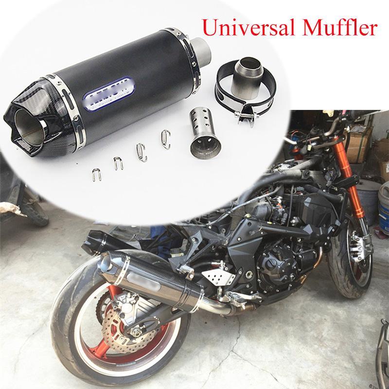 De escape de 51 mm de la motocicleta Sistema de tuberías Con Desmontable DB Killer escape bici de la suciedad Excape tubo modificado para Z650 Z800 Ninja300 CB190