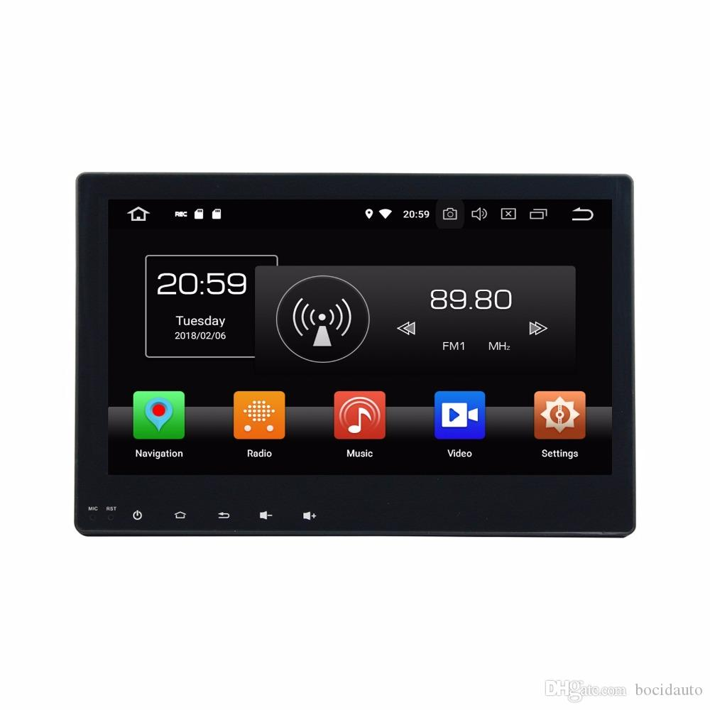 "10.1"" Android 8.0 Octa Core Car Multimedia Car DVD GPS for Toyota Hilux 2016 2017 With 4GB RAM Radio Bluetooth WIFI USB DVR 32GB ROM"