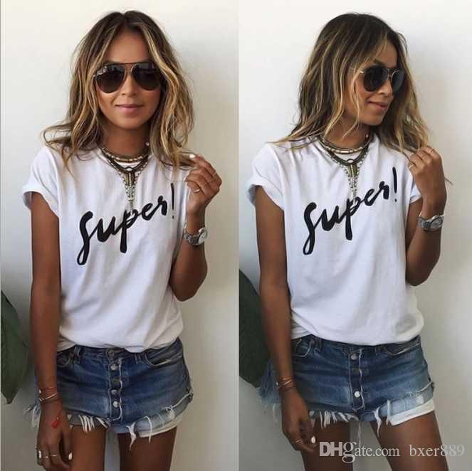 2019 yeni moda high-end kadınların rahat kısa kollu t-shirt poio gömlek