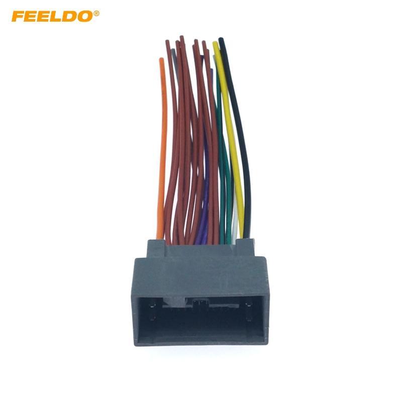 2020 Feeldo Car Radio Audio 24pin Interface Wire Harness