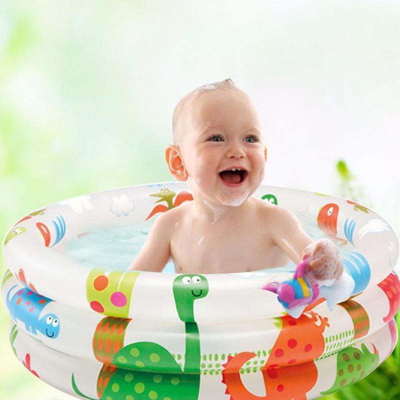 Redonda inflável do arco-íris bebê piscina para 0-3 anos de idade PVC Float Acessórios Crianças Pscina Para Piscine gonflable Alberca