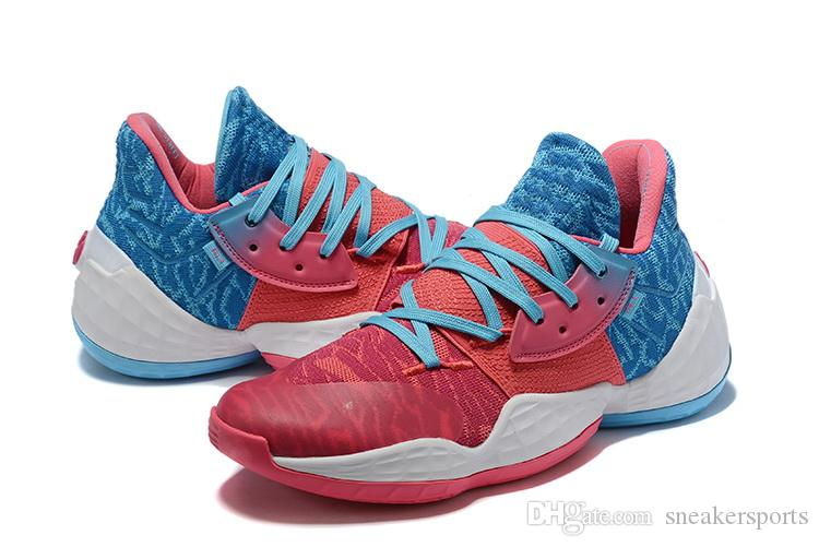 harden vol 4 Candy Paint for sale With Box good James Harden 4 Basketball shoes store free shipping US7-US11.5