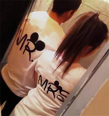 2016 Super Amante Casal Engraçado Romance Humor Presente T Shirt Para O Dia Dos Namorados Casamento