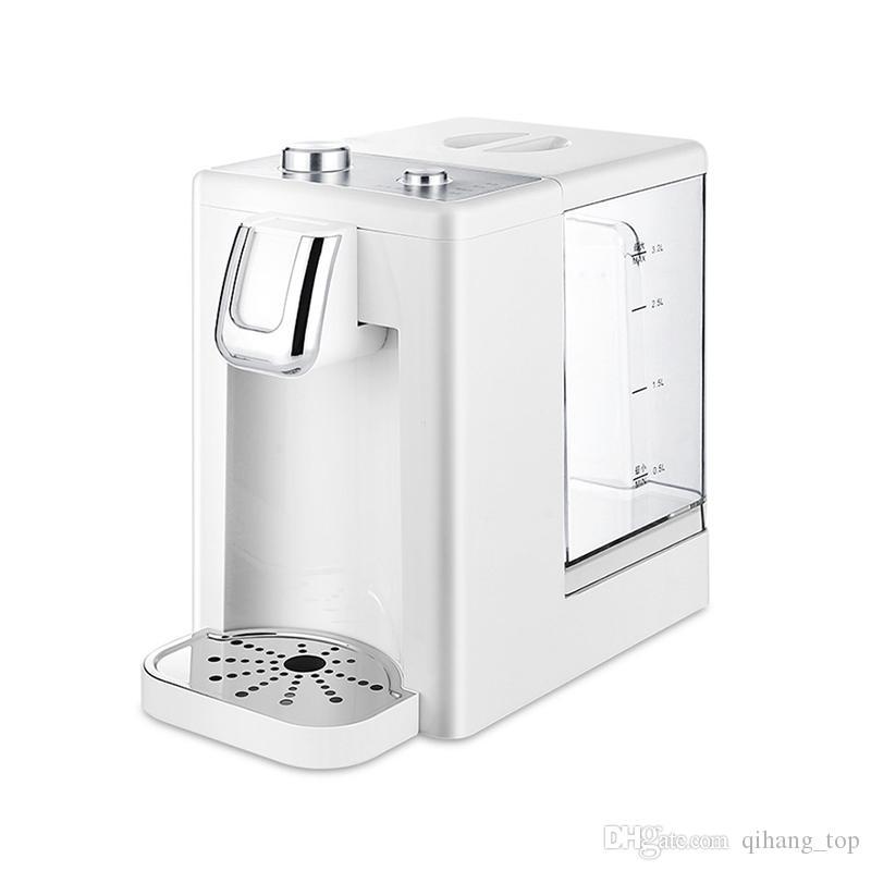 Qihang_top büyük kapasiteli 220 V anında elektrikli su ısıtıcısı ev 3.2L otomatik hızlı sıcak su pınarı fiyat