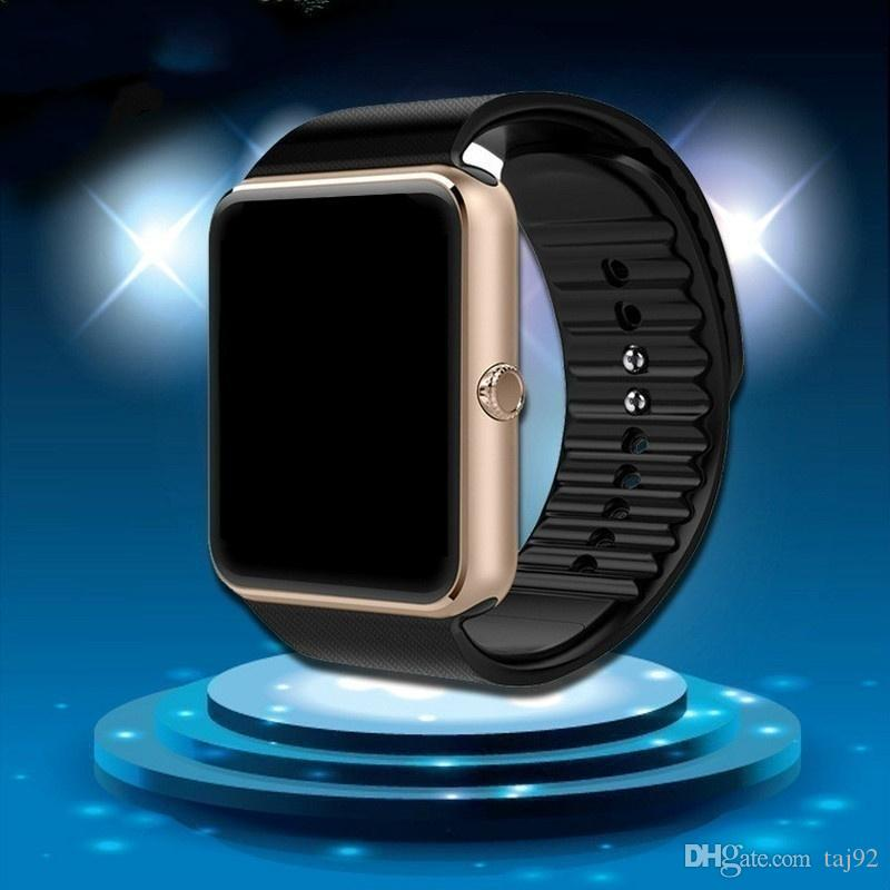 GT08 Bluetooth Smart Watch with SIM Card Slot and NFC Health Watchs for Android Samsung and IOS iphon Smartphone Bracelet Smartwatch