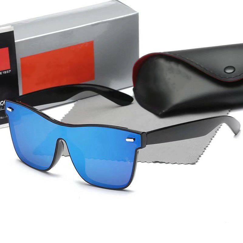 2020 lunettes de soleil pour les hommes et les femmes de soleil rectangle de style carré de la mode lunettes livraison gratuite UV400 verre Il n'y a pas de marque Labe
