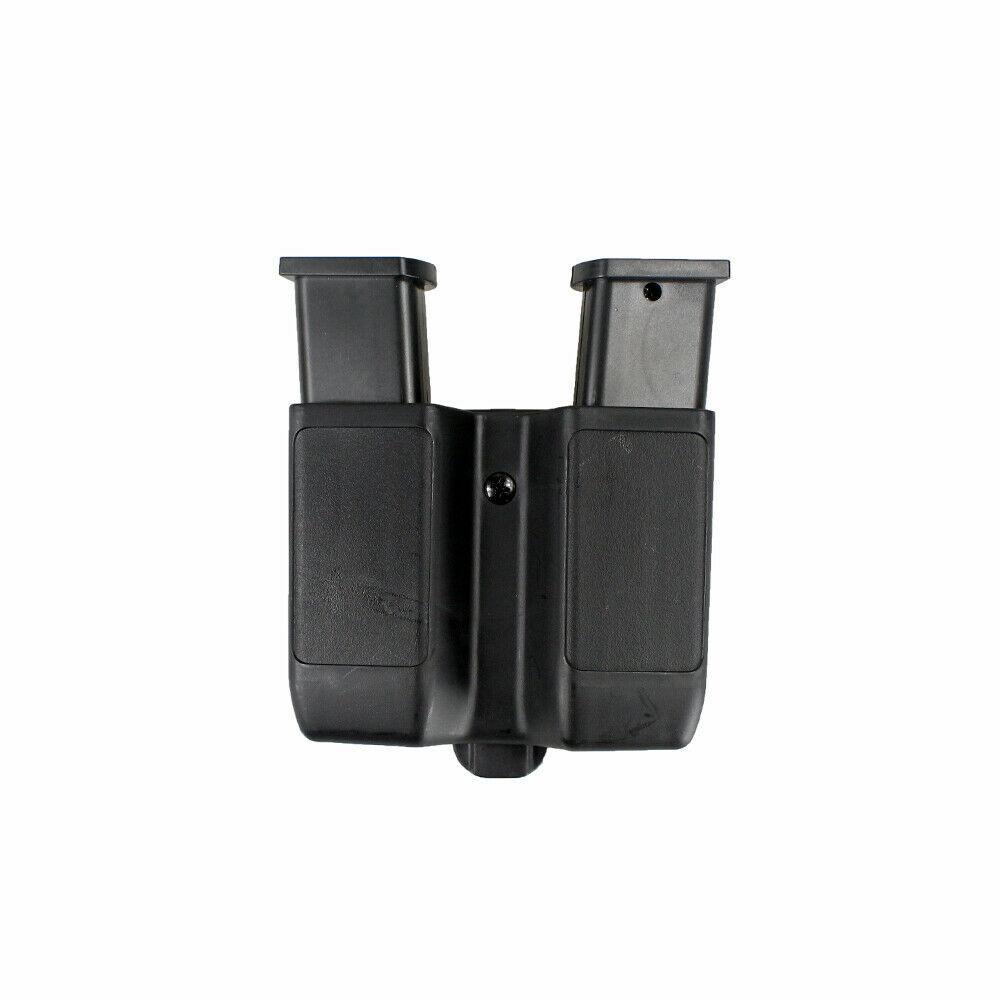 Mag Holster Quick Draw Dupla Pilha Mag Bolsa Titular Para 9mm a .45 cal