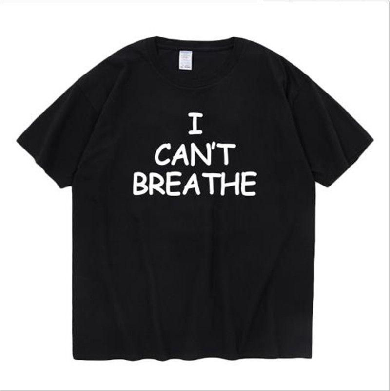 Harf Yaz Erkek tişörtleri ben Casual Düz Yaz Erkek Tasarımcı tişörtleri Mürettebat Boyun Erkek Tees NEFES cant