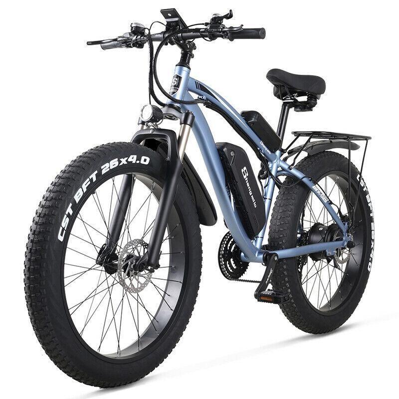 La nueva bici eléctrica 48V 500W Ebike de montaña eléctrica bici neumático 4.0 grasa bicicleta eléctrica