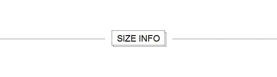 A2. SIZE INFO for SMT17