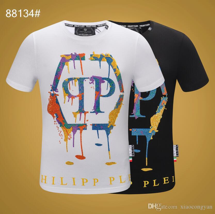 2019 nova marca de moda t-shirt estrela designer primavera verão cor mangas férias tees de manga curta letras casuais impressão t-shirt # 6035