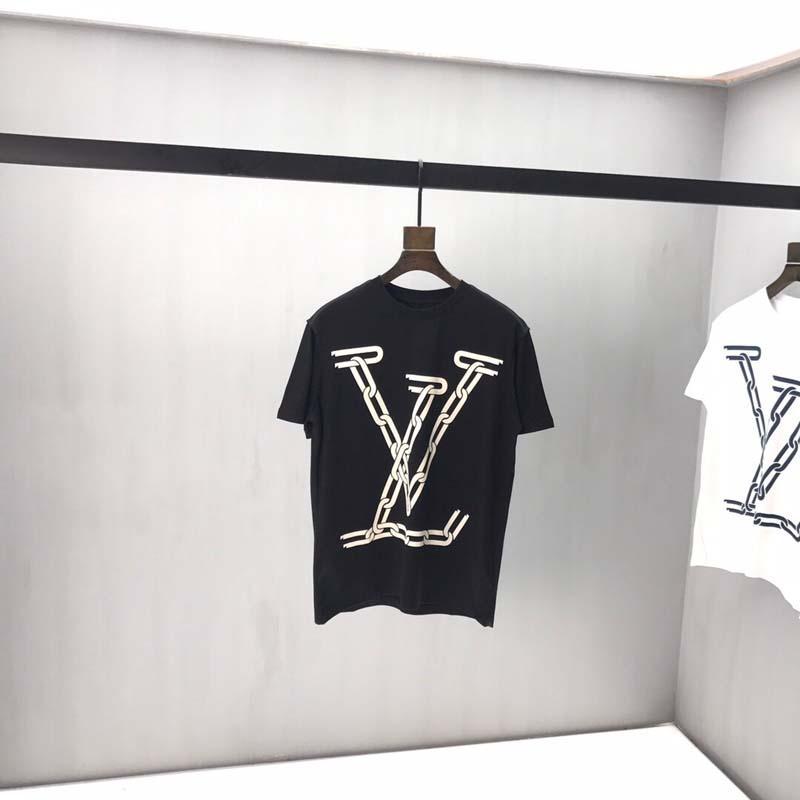 senhoras Paris de designer T-shirt T-shirt de impressão T-shirt de algodão de alta qualidade alfabeto avião top logo rua dos homens do hip-hop rosa tamanho UE S-XXL