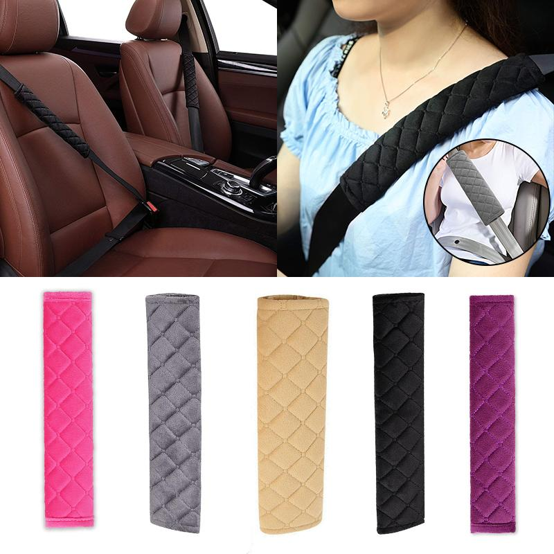 Sunflower Car Safety Seat Belt Shoulder Pads Cover Cushion Harness Protector