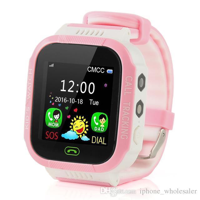 Y21S GPS Kids Smart Watch Anti-Lost Flashlight Baby Smart Wristwatch SOS Call Location Device Tracker Kid Safe Bracelet For Children Watch