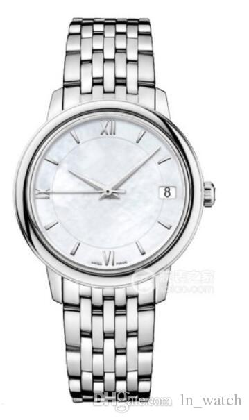 Fashion Lady Elegant Watch 424.10.33.20.05.001 White Dial 32.7mm Automatic Womens Watches Stainless Steel Watch