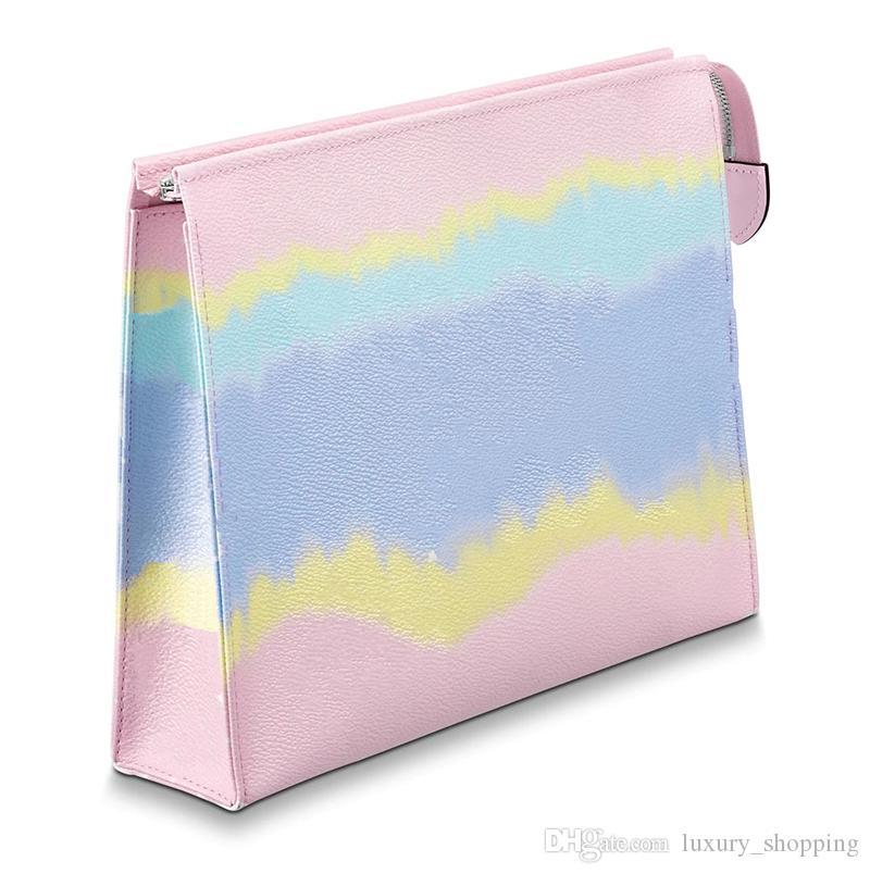 Venta caliente Nuevo monedero de lujo de alta calidad de la marca ESCALE 26 del bolso del diseñador de moda lindo del embrague con la caja