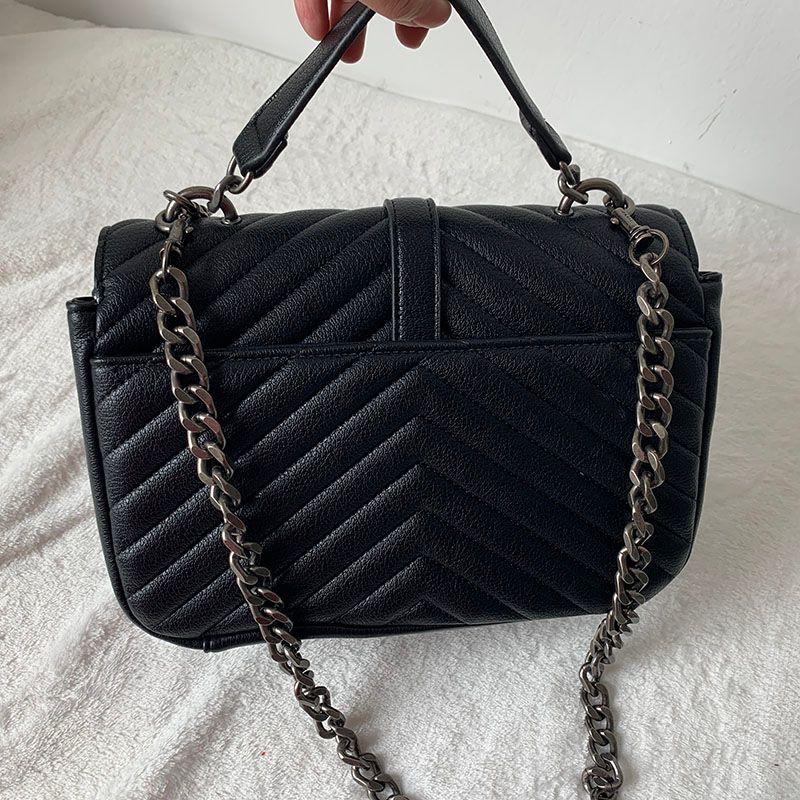 Lujo Classical Designer Handbags High Tote Women Calidad Hombro Feminina Colores Colores Embrague Bolsa Messenger Shopping Handbag 24C Renxn
