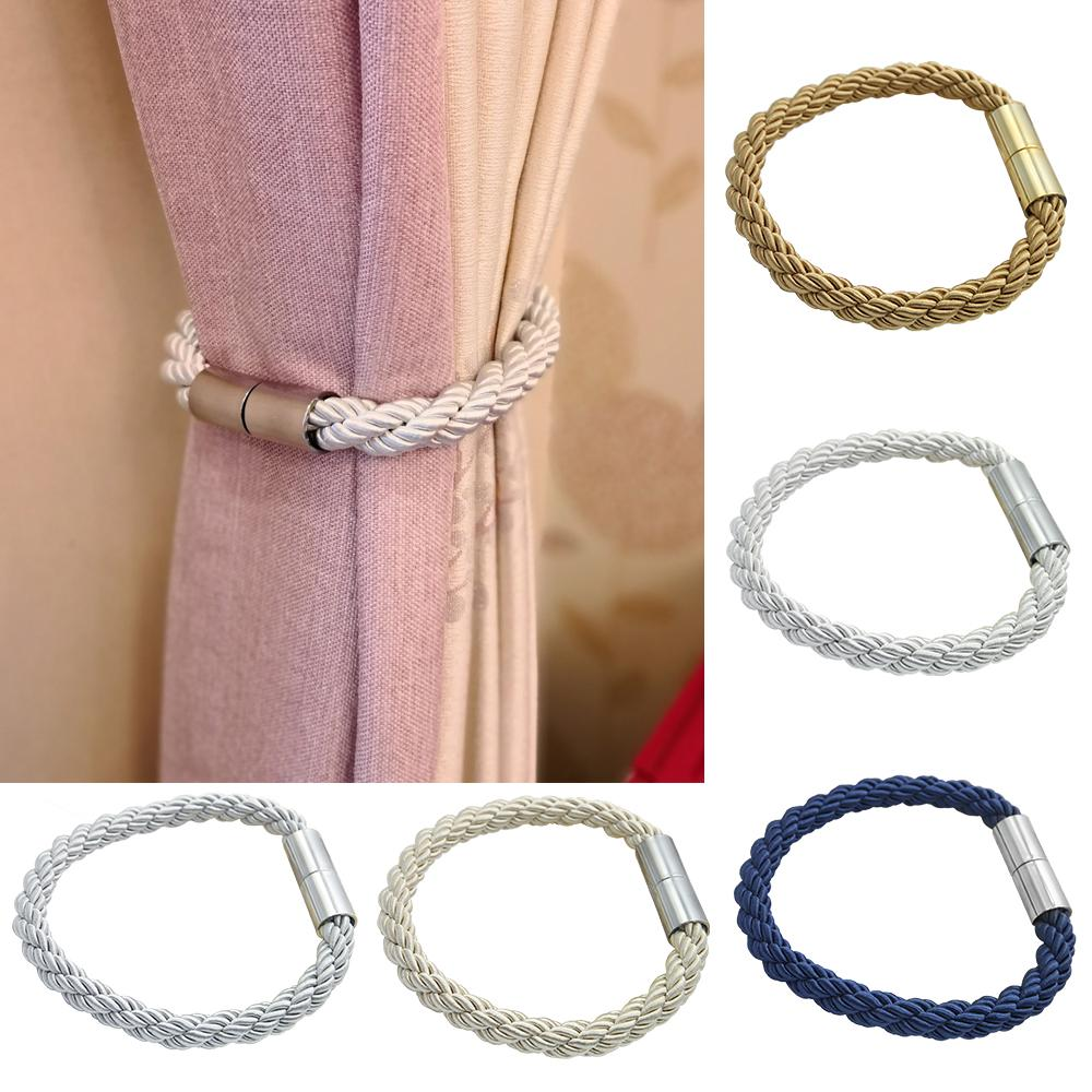 Curtain Strap Decorative Accessories Window Strap Buckle Holder Magnetic Curtain Tieback Creative Simple A