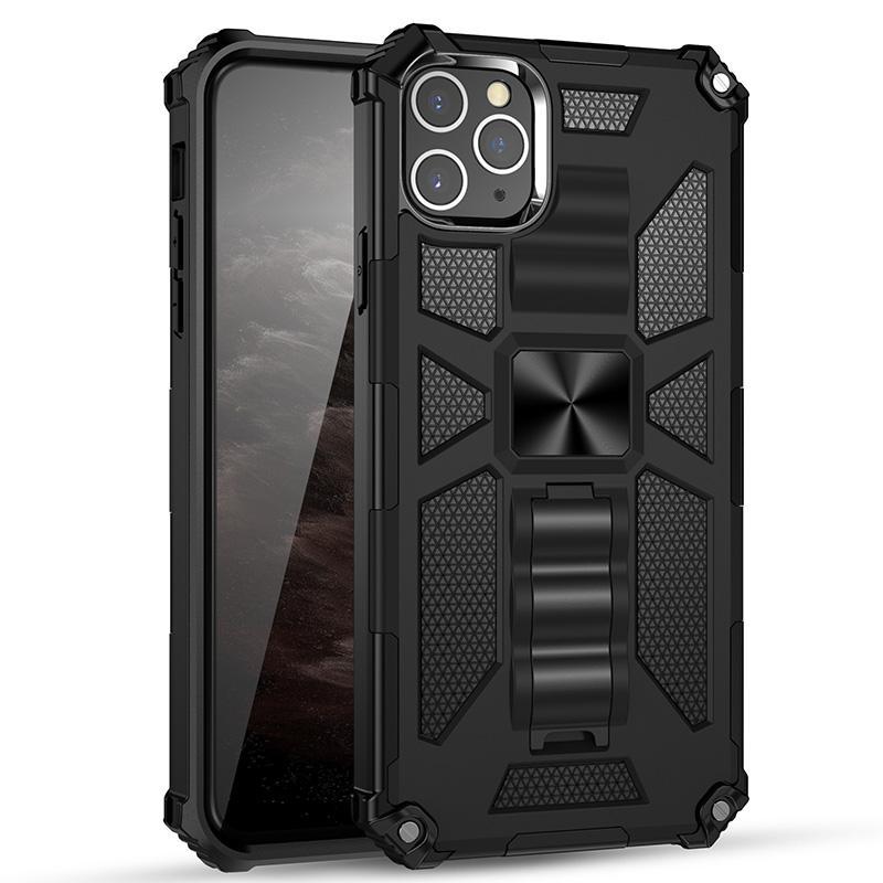 Pour Samsung Galaxy S20 cas avec Béquille armure militaire Protection souple TPU dur PC Phone Case pour Samsung S20 Ultra plus S20