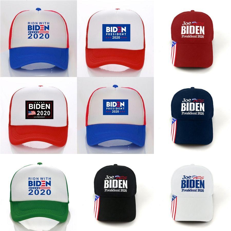 Donald Biden 2020 Cap republicano Ajuste gorra de béisbol Mantenga Great American Strapback Sombrero Biden para el presidente Biden sombreros de béisbol del casquillo 09 # 760