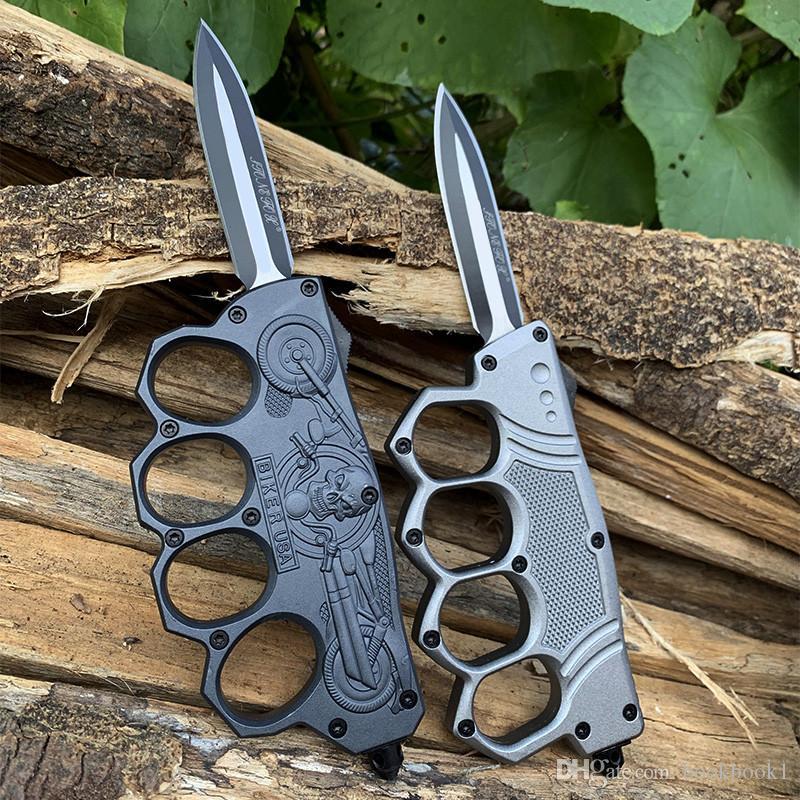 4 종류 원래 장갑은 자동 나이프 사냥 자동 칼 캠핑 Fising이 Multifunton 손 도구를 칼 양각