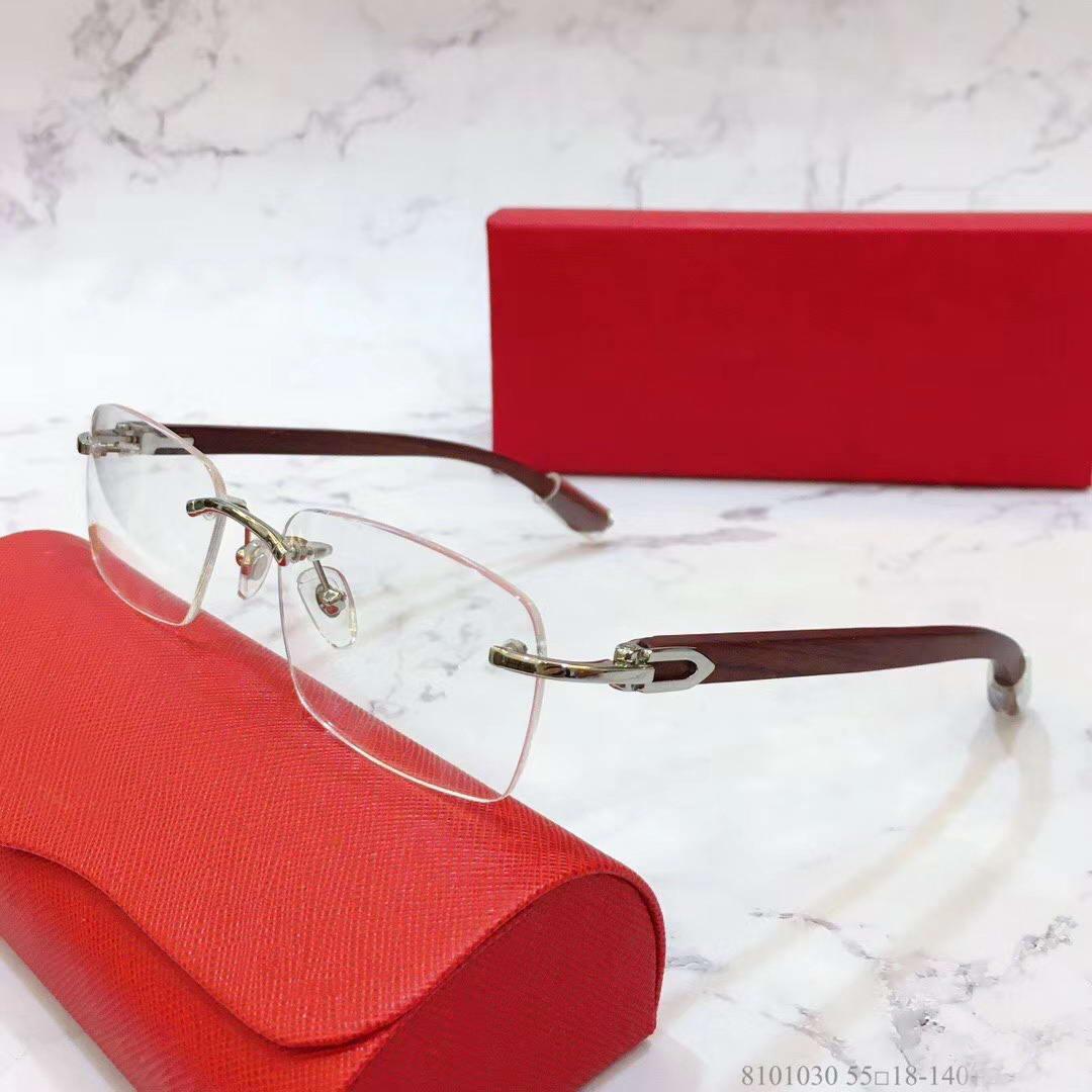 Senza orlo degli occhiali Frames Cancella lenti ottiche montature occhiali MEN nuovo con la scatola