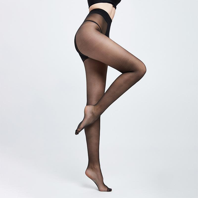 Kadınlar Tayt Sexy çorap karşıtı sıyırma Süper Elastik uzun çorap Skinny Bacak sırf tozluk uyluk yüksek kadife Külotlu çorap kadın bayan ladis