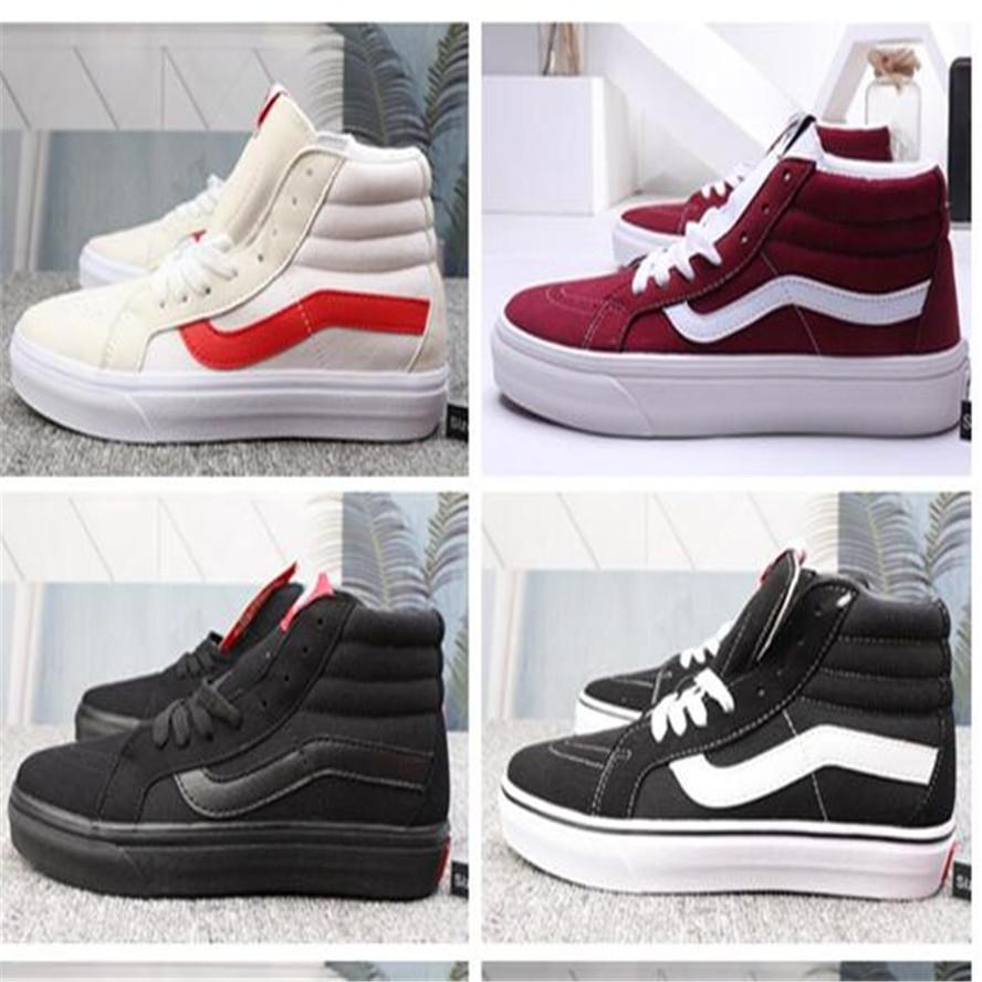 2020 Original Van old skool black white yacht club FEAR OF GOD Slip On Checkerboard canvas mens sport sneakers fashion casual shoes