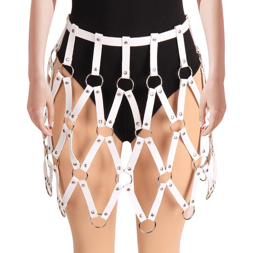 Femmes Cage Body Soutien-gorge exotique Vêtements Gothique Lingerie Sexy Festival de Bondage Revelry Soutien-gorge Harnais PG0414