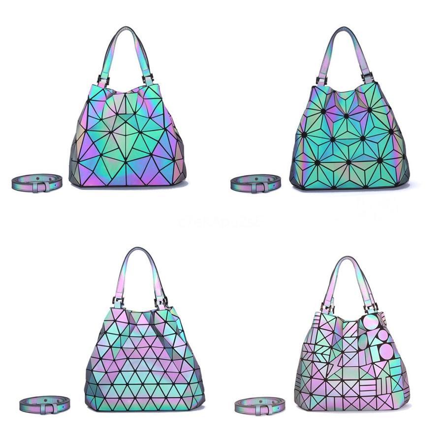 Kadınlar Deri Çanta Lüks Çanta Kadınlar Çanta Tasarımcı Gülümseme Nakış Harf Tote Sac A Ana # 486 için 2020 Lazer Çanta