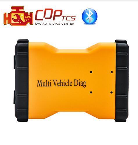 MVDiag MULTI VEICOLO DIAG plus bluetooth 2015.03 con keygen + obd2 cavo LED OBD2 scan strumento diagnostico auto camion rivelatore automatico tcs